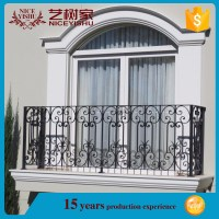 Simple Steel Balcony Grill Design,Wrought Iron Balcony