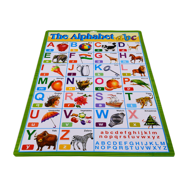 Arabic Phonic Wall Hanging Chart For Kids Learning Alphabet - Buy