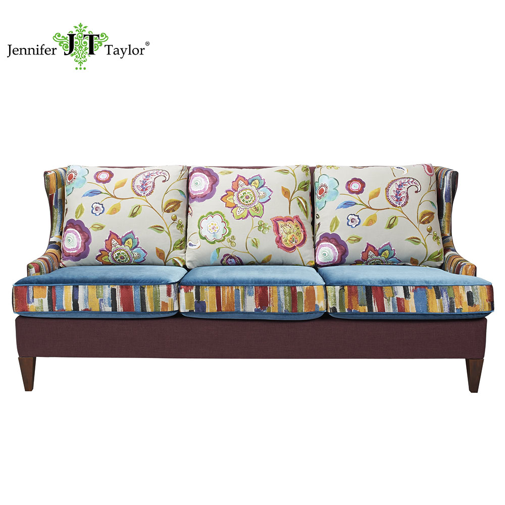 Patchwork Sofa Wooden Home Upholstery Sofa Furniture Living Room Reclining Patchwork Sofa Buy Home Furniture Living Room Furniture Home Furniture Living Room