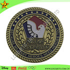 Professional metal gifts custom gold metal coins and custom challenge coin