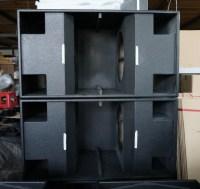 Dual 18 Empty Bass Speaker Cabinet  Cabinets Matttroy
