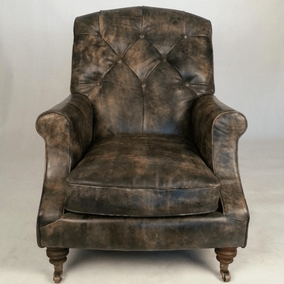 Chesterfield Sofa And Chair Retro Traditional English Chesterfield Sofa Chair In Antiqued Leather Buy Chesterfield Sofa Chair In Antiqued Leather Chesterfield Sofa Chair In