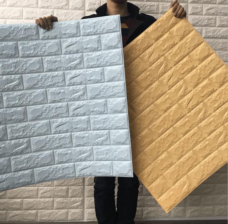 Pe Foam 3d Wallpaper Venta Al Por Mayor Goma Espuma Para Paredes Decoracion