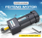 60mm AC Induction Gear Motor with Gearhead And Speed Reducer