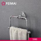 Popular for the Market Brass Chrome Finish Vanity Towel Holder Ring