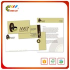China producing company wholesale design and print office letter head