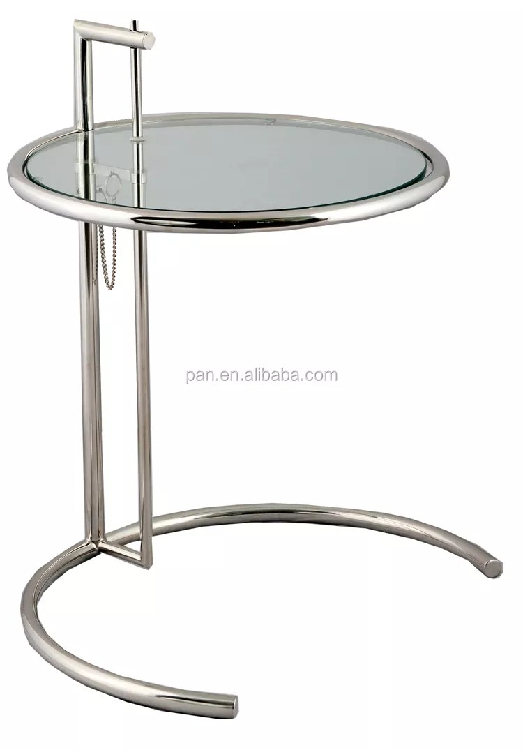 Eileen Gray Table Classic Interior Design Barcelona Eileen Gray Adjustable Cigarette Side Table Buy Eileen Adjustable Side Table Eileen Gray Adjustable Cigarette