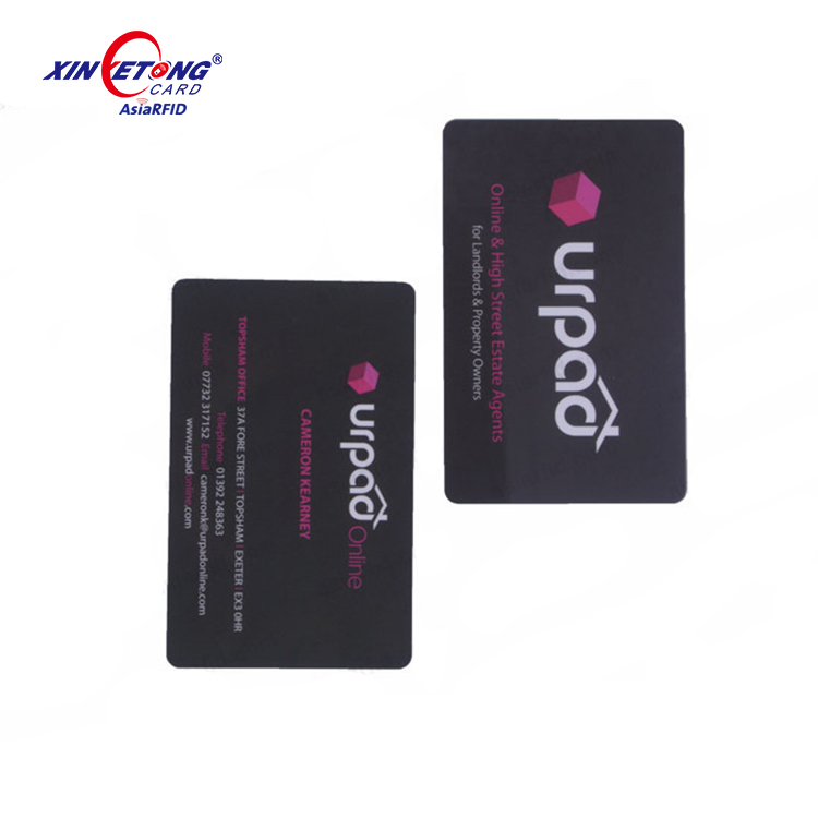 Plastic Nfc Business Card With Qr-code (factory Price) - Buy Plastic