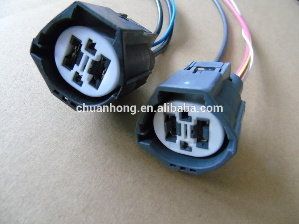 4 Way Fan Clutch Connector Socket Harness Or W/out Wire Pigtail Amp