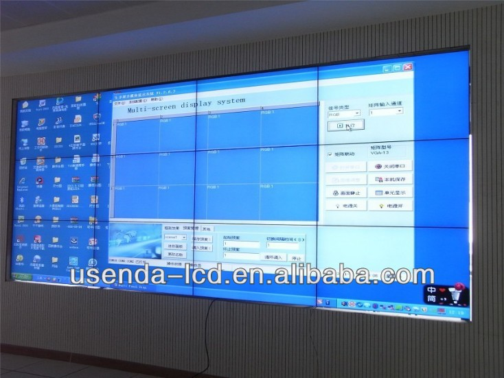 55 Inch Video Wall With Live Broadcast Multi Screen - Buy 2x2 Video - multi screen display