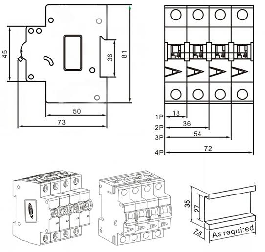 dc circuit breaker wiring diagram