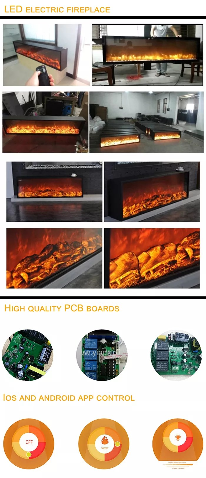 Wholesale Fireplace Inserts Factory Direct Sell Good Price Indoor Usage Easy Install Wholesale Certified Electric Fireplace Insert Emp 007 Buy Wholesale Electric