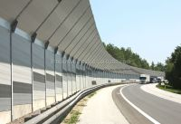 acoustic sound wall panel/highway sound barrier wall panel ...