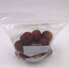 Clear LDPE plastic zip lock bag quart size double ziplock storage bags supplier
