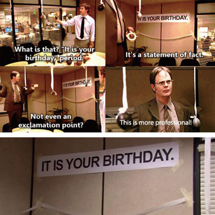 it Is Your Birthday\