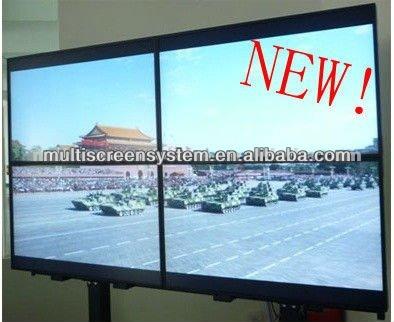 Multi Screen Tv Wall Advertising Display With Slim Tft Led Splicing - multi screen display