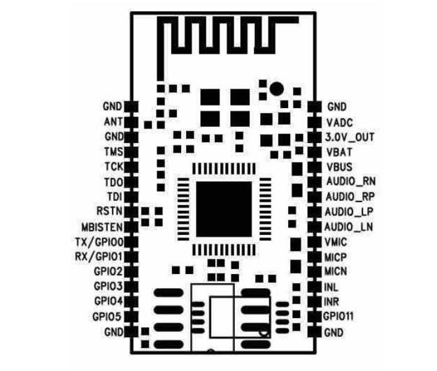 bluetooth stereo module with pcb circuit china bluetooth stereo