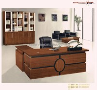 Modern Executive Melamine Wooden Office Table Designs