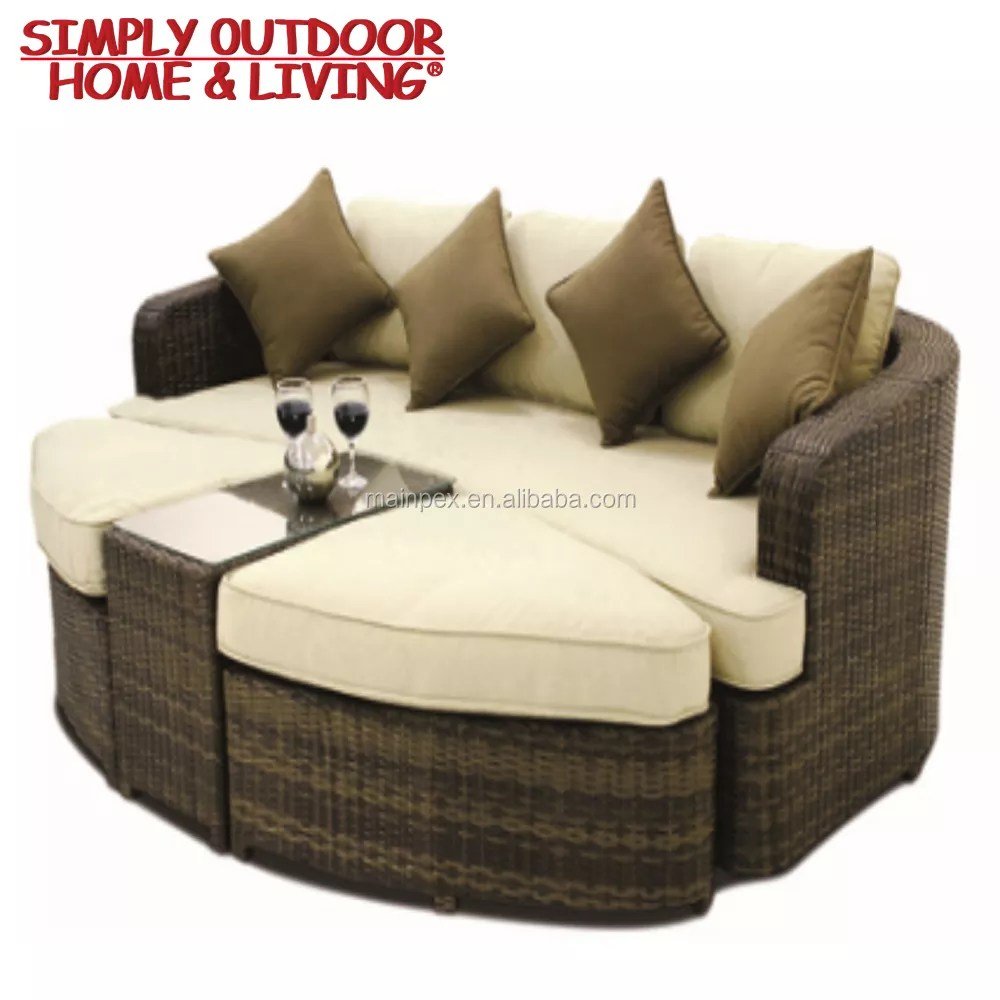 Rattan Sofa Modern Design Outdoor Rattan Garden Furniture Rattan Sofa Circle Corner Sofa Set Buy Outdoor Rattan Garden Furniture Rattan Sofa Set Corner Sofa