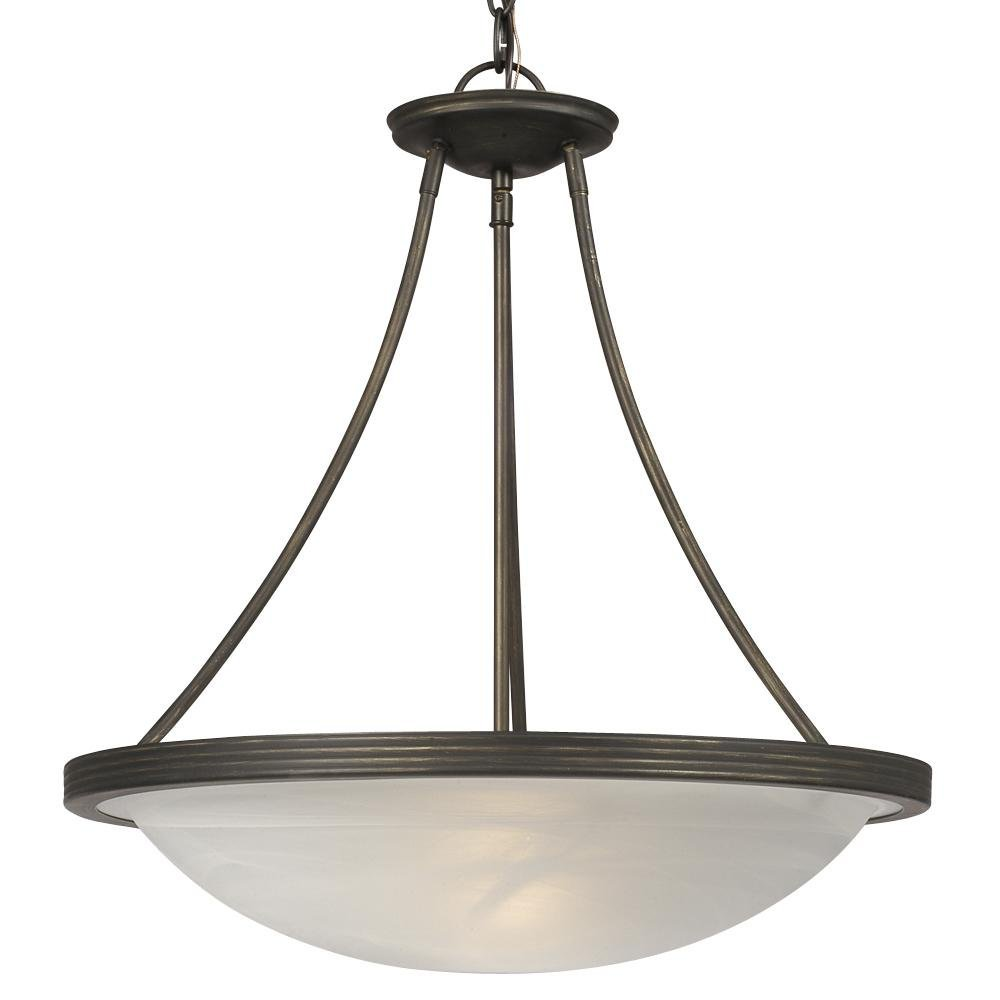 Galaxy Lighting Buy Galaxy Lighting 811480pt 3 Light Julian Bowl Large Pendant In