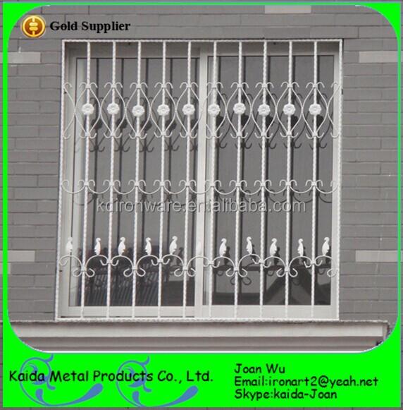 New Wrought Iron/steel Window Grills/grates Design