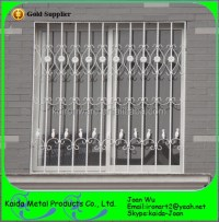 New Wrought Iron/steel Window Grills/grates Design