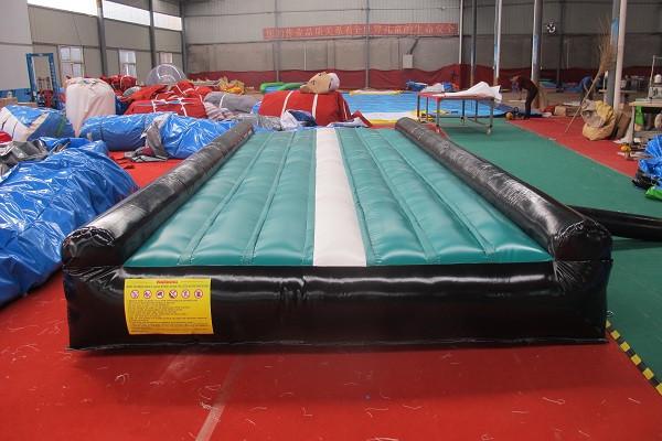 Cheap Price Inflatable Air Beam Folding Gym Balance Beam
