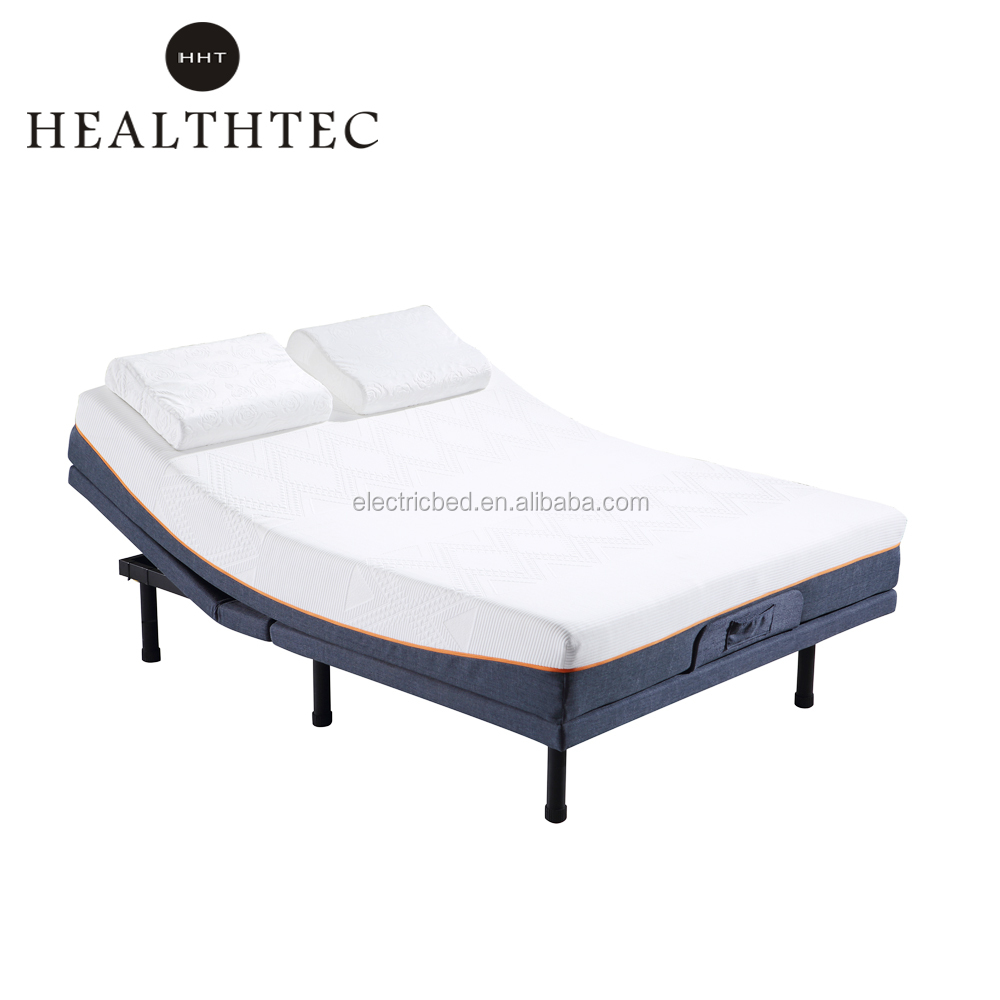 Electric Bed King Size China Supplier King Size V3 Electric Adjustable Massage Bed Frame On Sale Buy King Size Adjustable Bed Frame V3 Massage Bed Electric Adjustable Bed