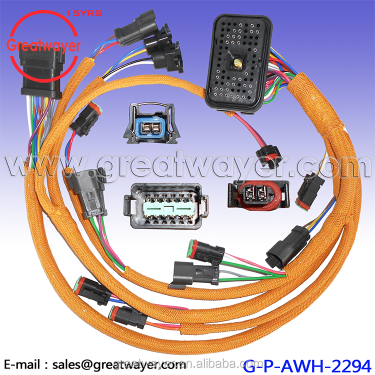 70 Pin Connector CAT 230-6279 E330C 330C C9 Engine Wiring Harness