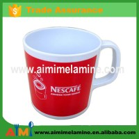 Melamine Cheap Coffee Mugs Red Tea Cup With Handle - Buy ...