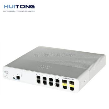 8 Port Switch Cisco Catalyst 2960 Sfp Switch Ws-c2960c-8tc-l - Buy