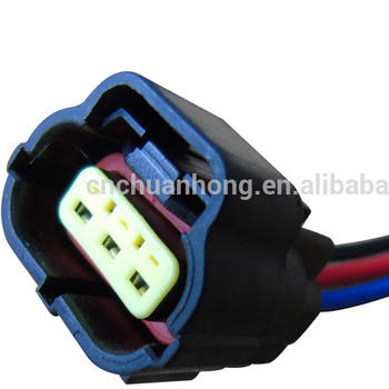 Female Connector Plug 3-way 3 Pin Wire Denso Pigtail Harness - Buy 3