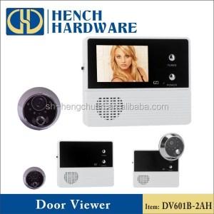 2.4'' door bell and night vision digital peephole wifi