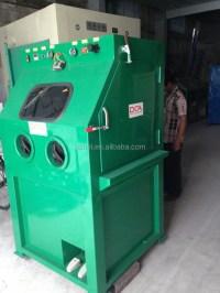 Wet Abrasive Blasting Cabinet - Buy Wet Blasting Cabinet ...