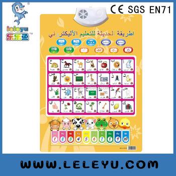 Plastic Or Paper Arab Letter Content Voice Sound Color Alphabets