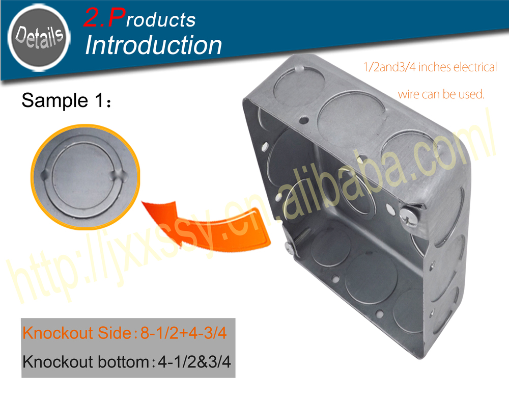 6 Discount Square Ul Listed 4x4 Punching Steel Grey