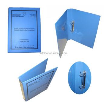 Pvc Plastic File Folder Binder With 3 Ring - Buy Plastic File Binder