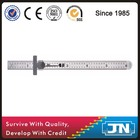 150mm Stainless Steel Ruler With Clip / Pocket ruler