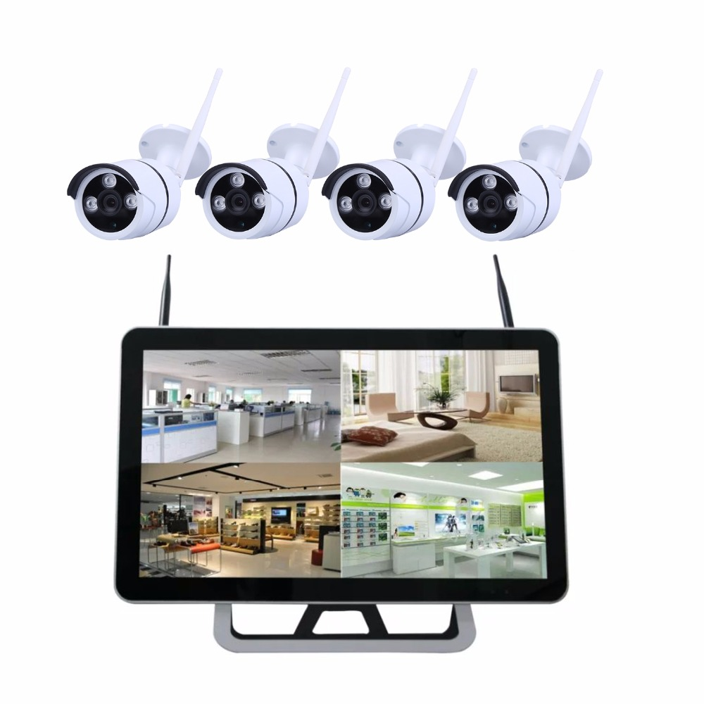 Cctv Home 4 8 Channel Wireless Cctv Camera Kit System Home Security With Built In 22inch Lcd Screen Wifi Nvr Buy Cctv Monitor Wireless Cctv Kit Cctv Camera