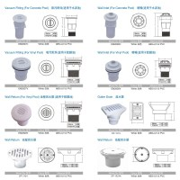 Swimming Pool Sanitary Ware Accessories,Pvc Pipe And ...
