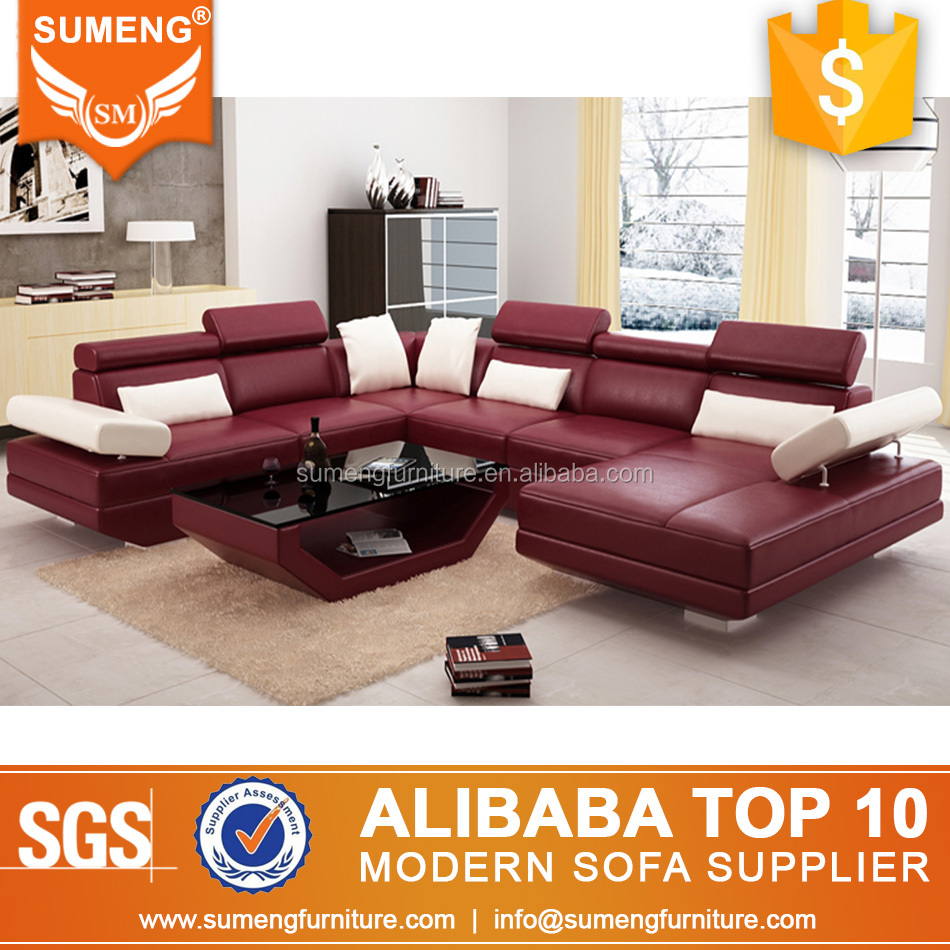 U Couch Modern U Shape Couch Leather Sofa Set Furniture For Living Room View Modern Leather Sofa Set Sumeng Product Details From Foshan Sumeng Furniture