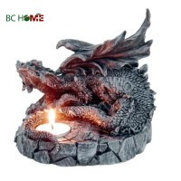 Dragon Shape Resin Tea Light Candle Holder - Buy Candle ...