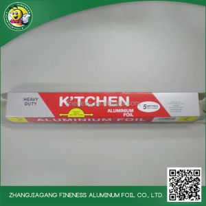 Household food packaging aluminium foil