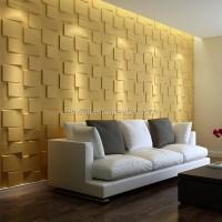 Plant Fiber Decorative Mural 3d Wallpaper 3d Wood Wall ...