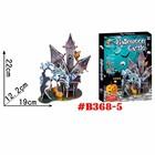 Horrible Castle 3d jigsaw puzzle Halloween Gift