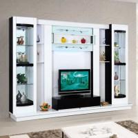 Latest Design Diy Modern Tv Wall Unit 012# Wood Led Tv ...