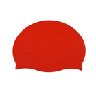 Promotional 100% Silicone Swim Caps For Water Sports