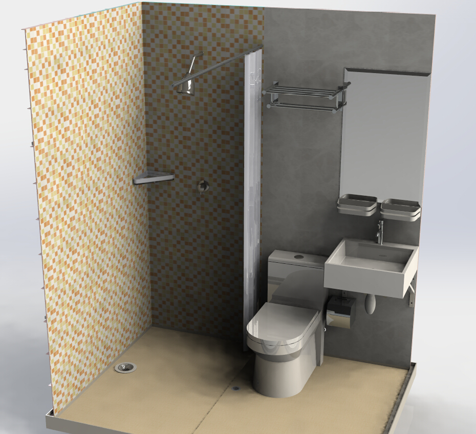 Glass Portable Toilet And Bathroom Shower Room Price In India Buy Shower Room Portable Toilet And Shower Room 6mm Glass Bathroom Shower Room Price In India Product On Alibaba Com