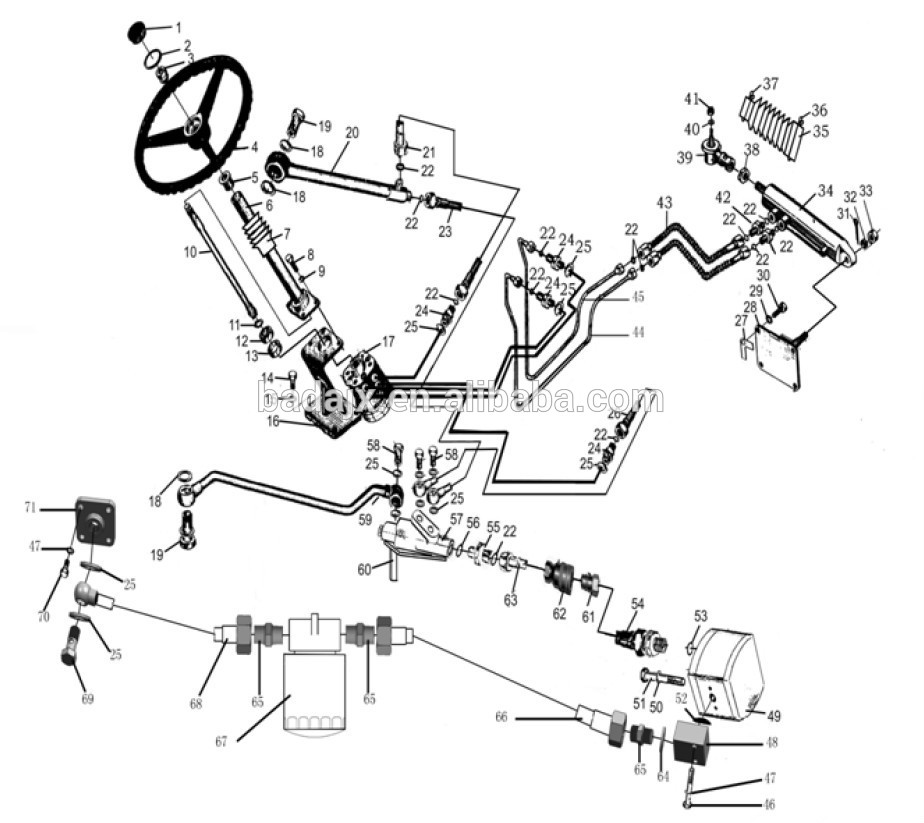 jinma 284 fuel filter