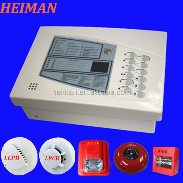 Hidden Heiman Fire Alarm System Connect 12v/ 24v Dc Hm-912 6\